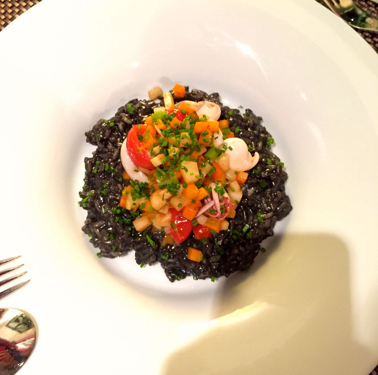 Black Cuttlefish Risotto