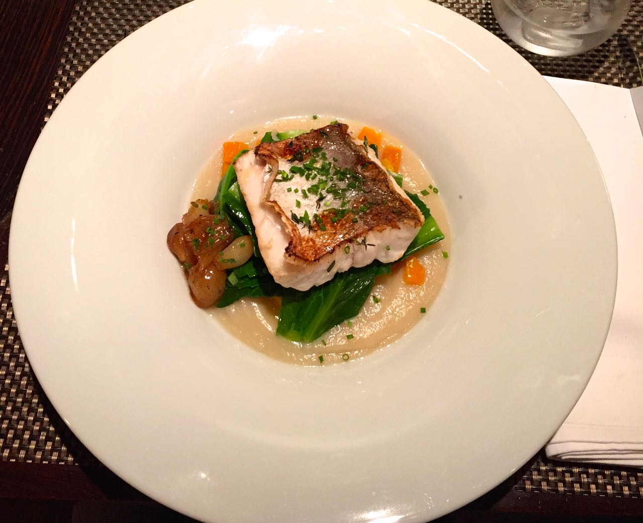 Roasted Fillet of Hake