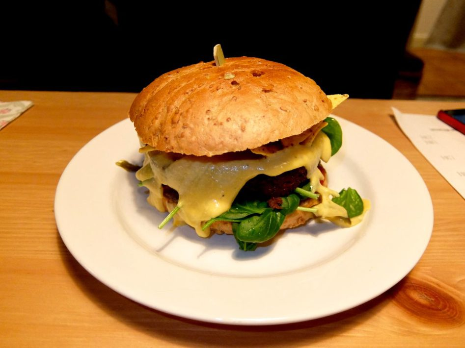 Happen Pappen: best vegan burger