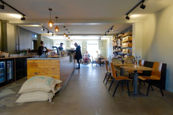 Nord Coast Coffee Roastery interior