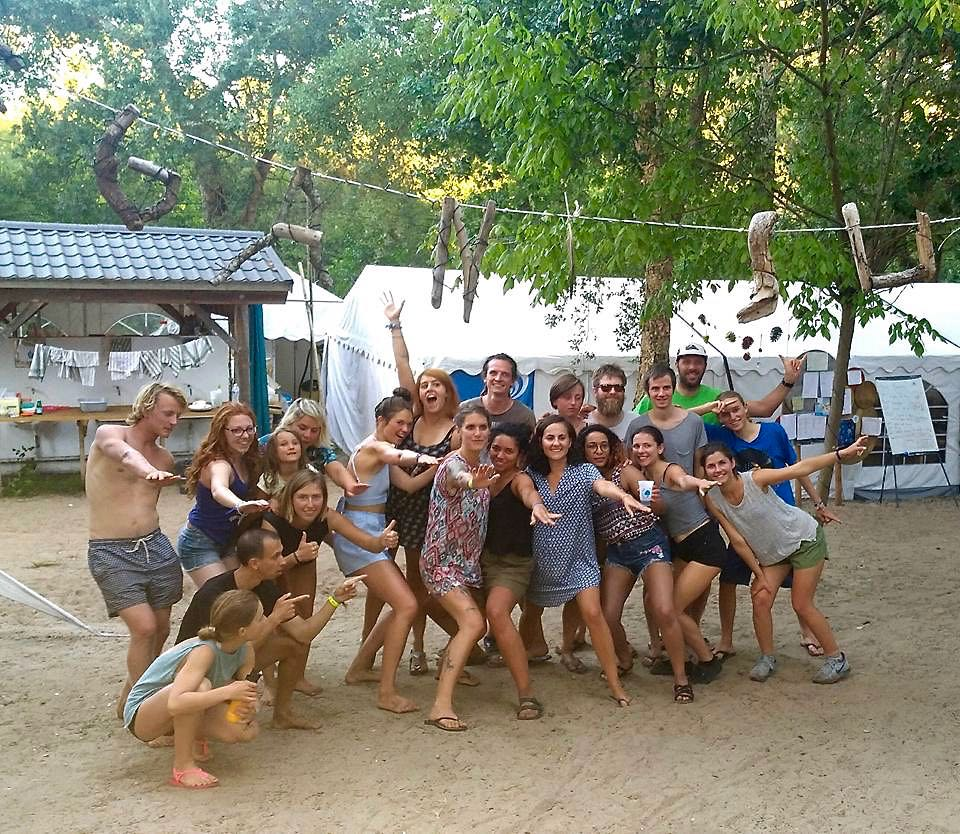 Vegan Surf Camp Volunteers