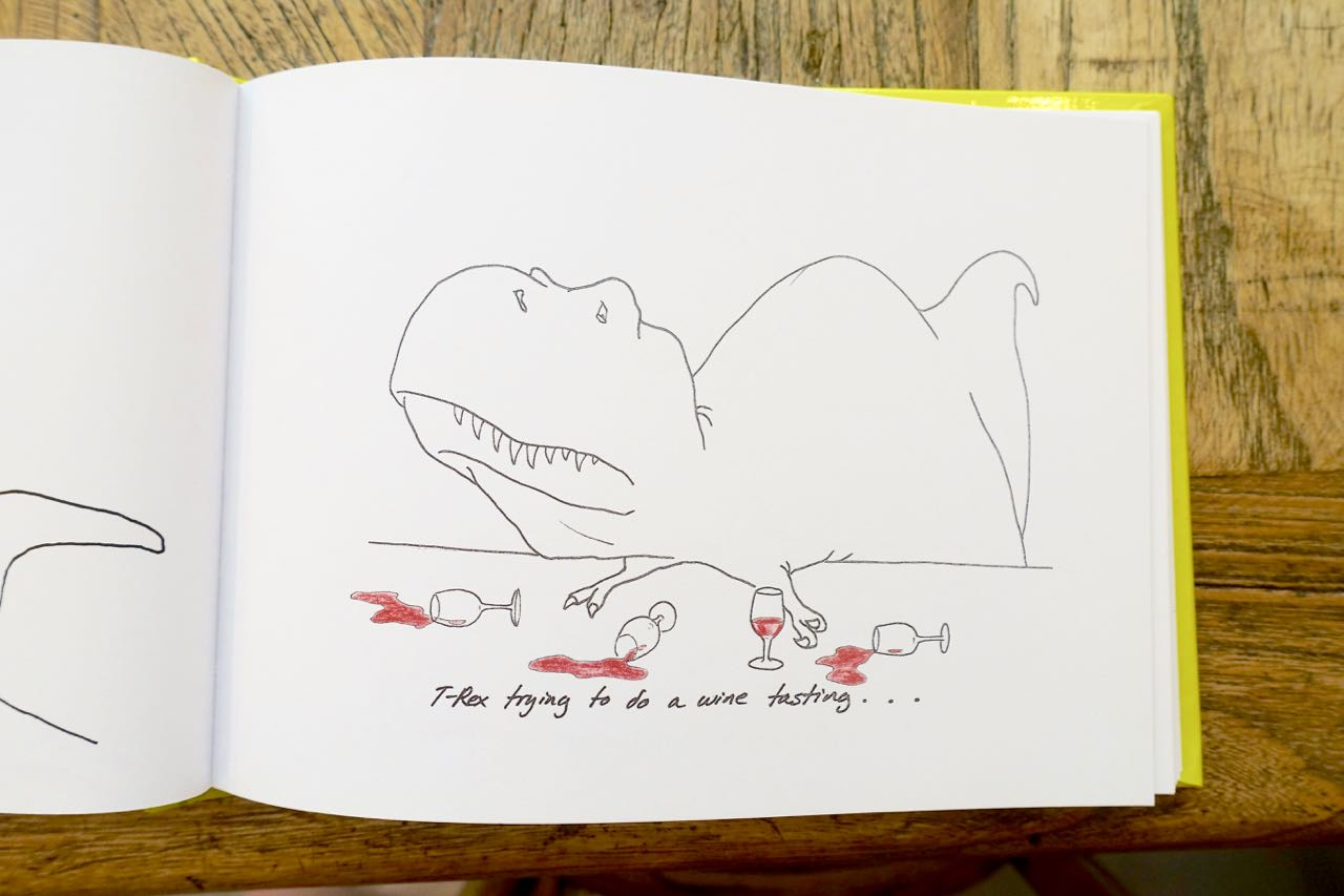 T-Rex Trying Book, KURO espresso bar