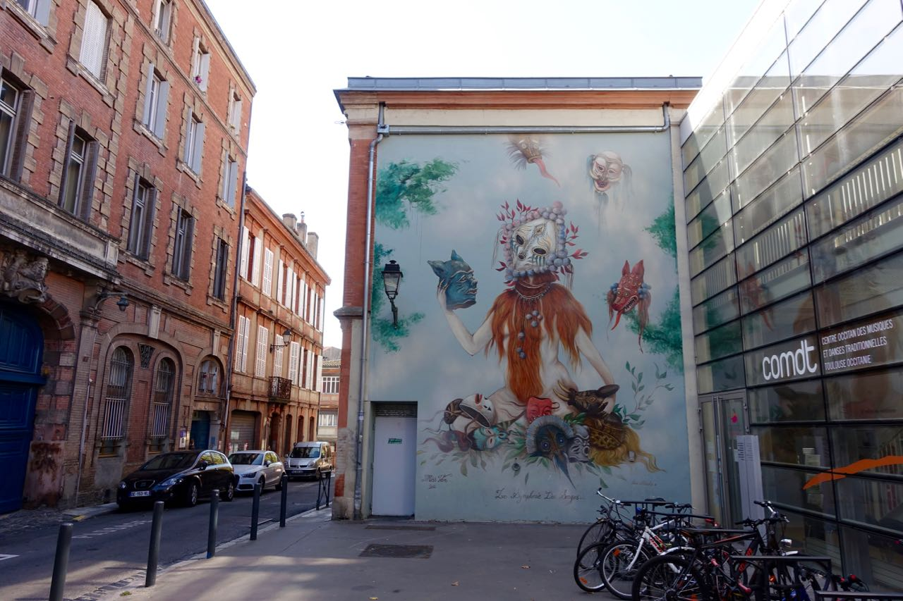 Visiting Toulouse, street art