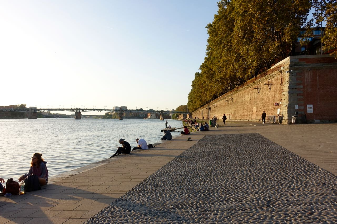 Garonne River, Visiting Toulouse
