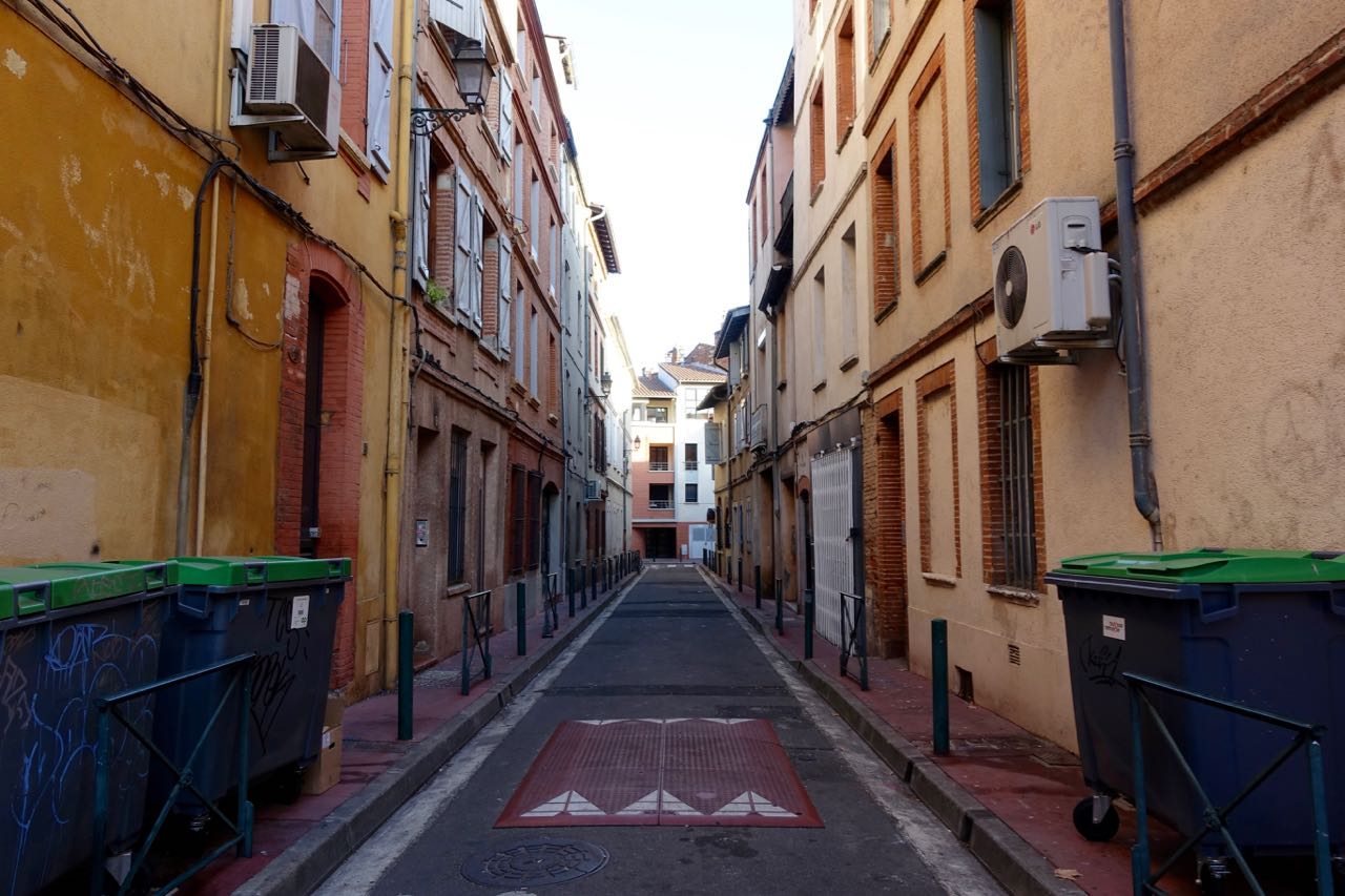 Visiting Toulouse, streets