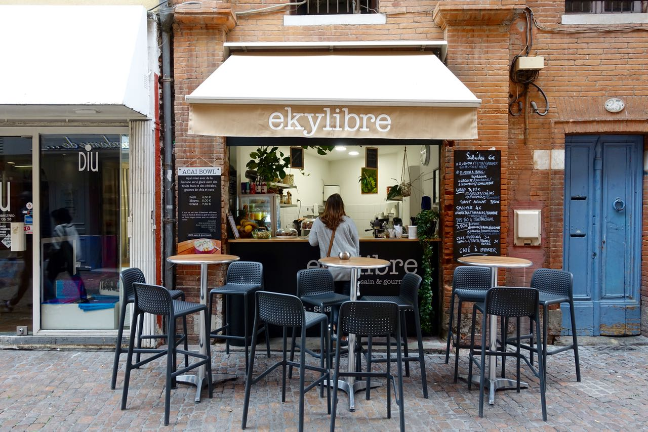Ekylibre, health food, Visiting Toulouse