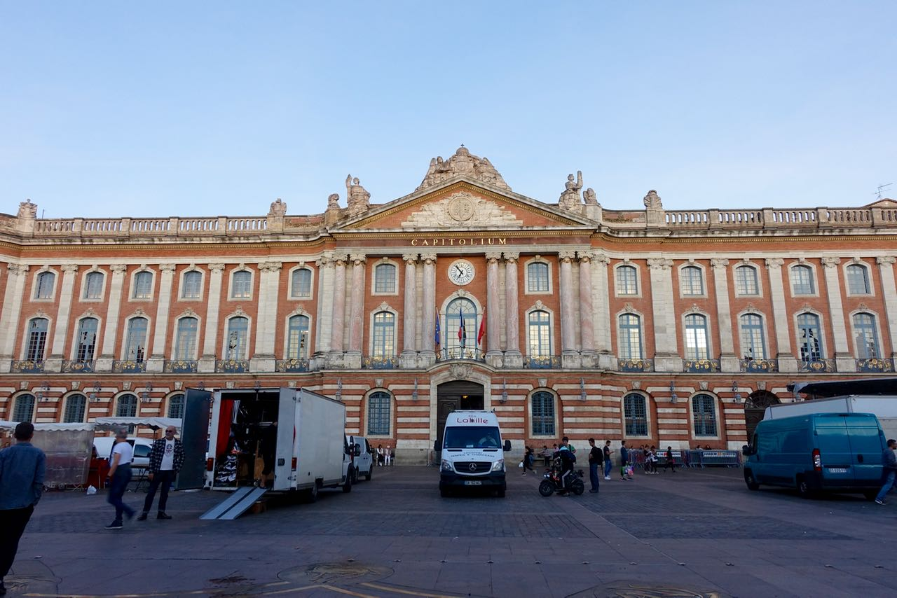 Visiting Toulouse, Capitole