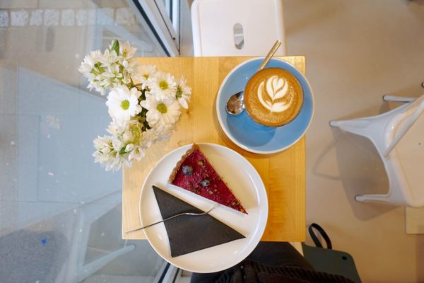 CODOS Flat White and Super Treat Cake